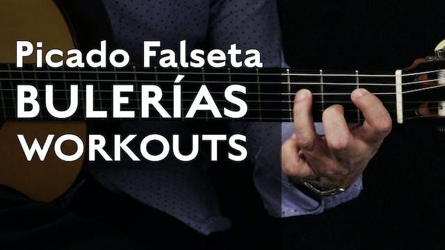 Picado Falseta Workout (Bulerias) - T...