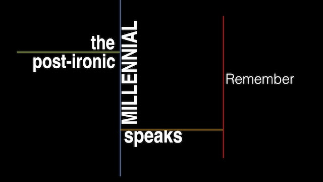 Remember (feat. The Post-Ironic Millennial)