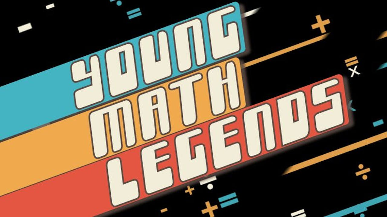 """Young Math Legends"" 3-Pack (Fibonacci, Gauss, Euler)"