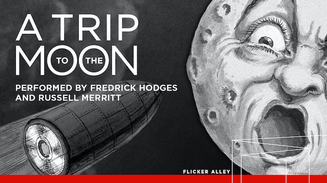 A Trip to the Moon in B&W (Hodges) (1902)