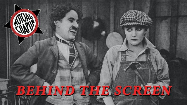 Behind the Screen (1916)