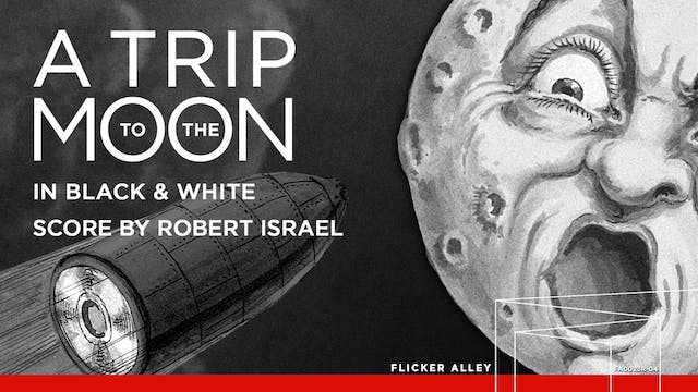 A Trip to the Moon in B&W (Israel) (1902)