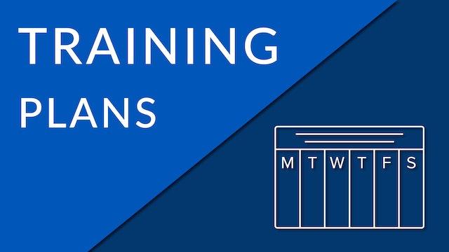 Training For Success (Training Plans)