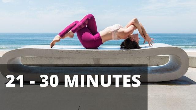 21-30 MINUTE STRETCH