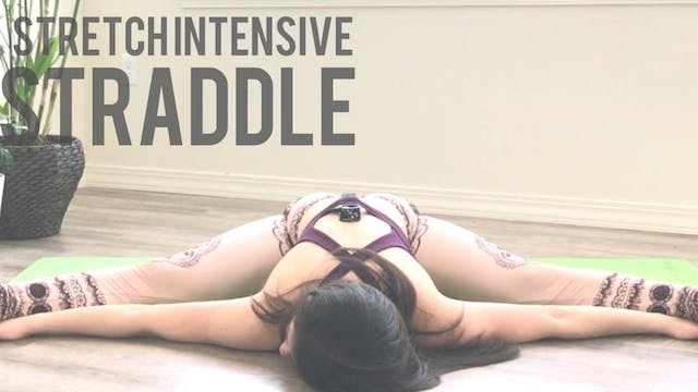 Seated Straddle Stretch Intensive