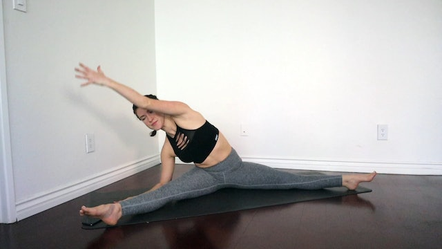 Quickie Hips & Straddle Stretch