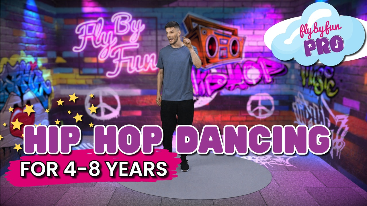 Hip Hop Dancing for 4-8yrs