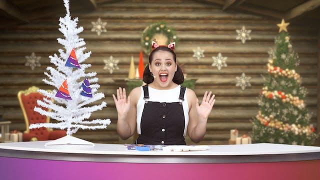 Cardboard Christmas Tree Decorations