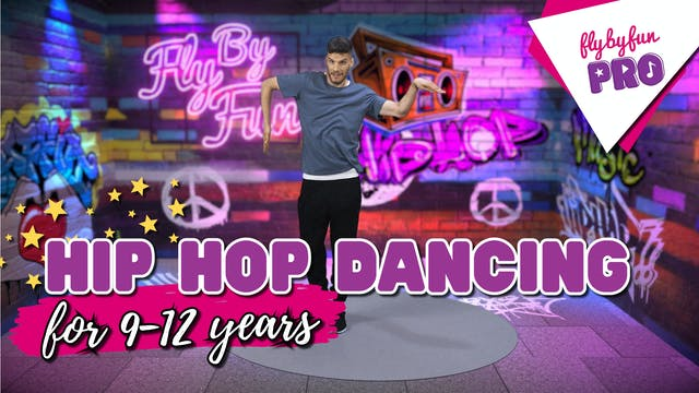 Hip Hop Dancing for 9-12yrs