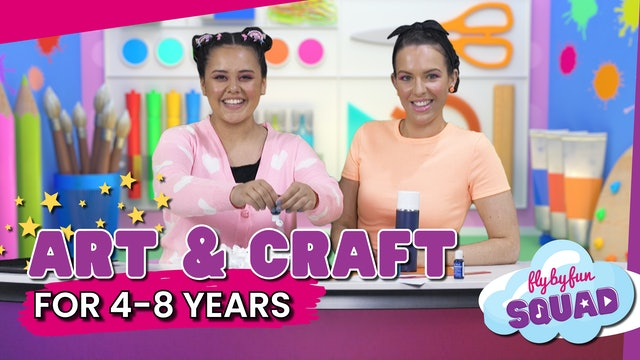 Art & Craft for 4-8yrs