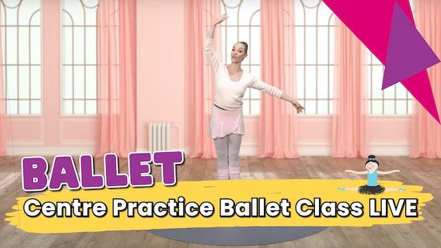 Centre Practice Ballet Class