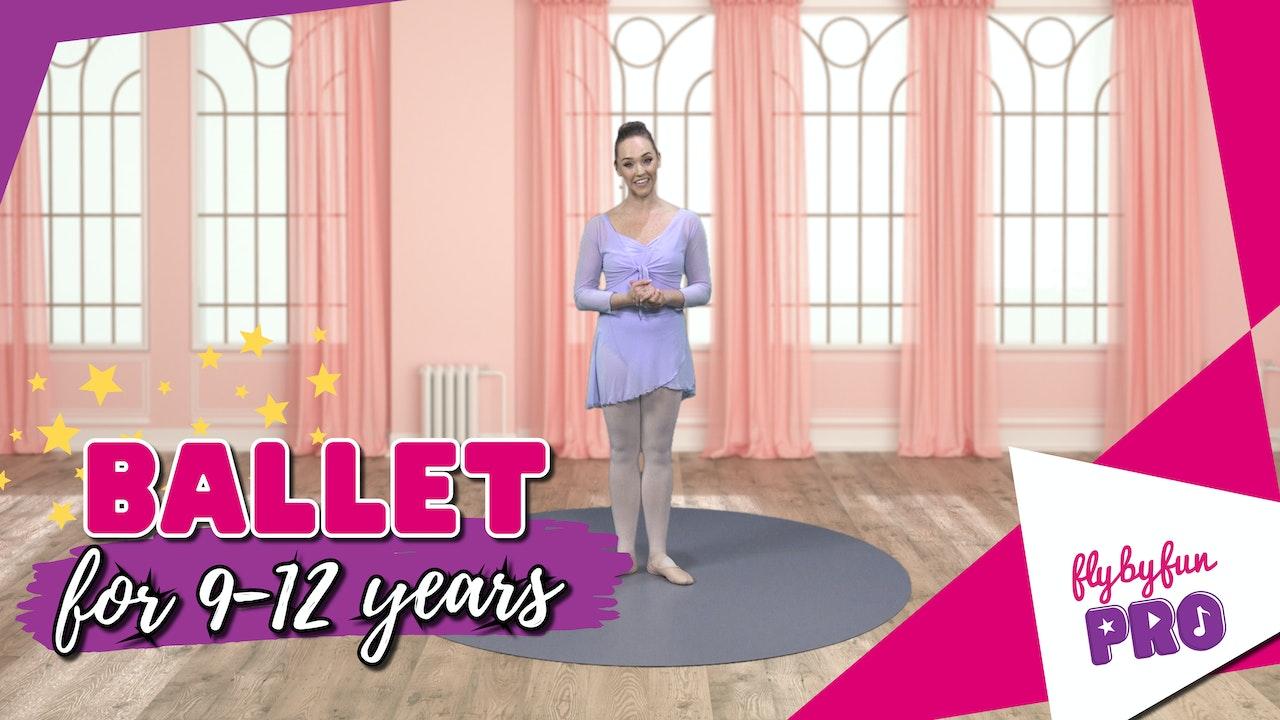 Ballet for 9-12yrs