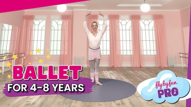 Ballet for 4-8yrs