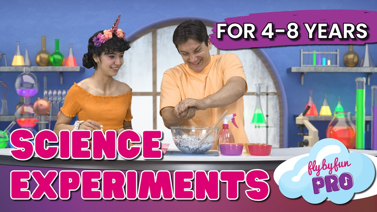 Science Experiments for 4-8yrs