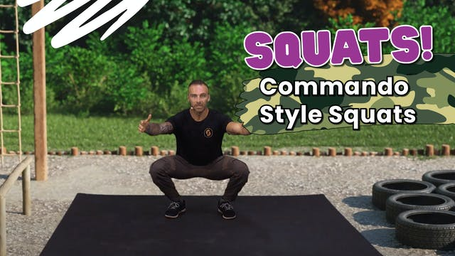 Learn How To Squat! Commando Style