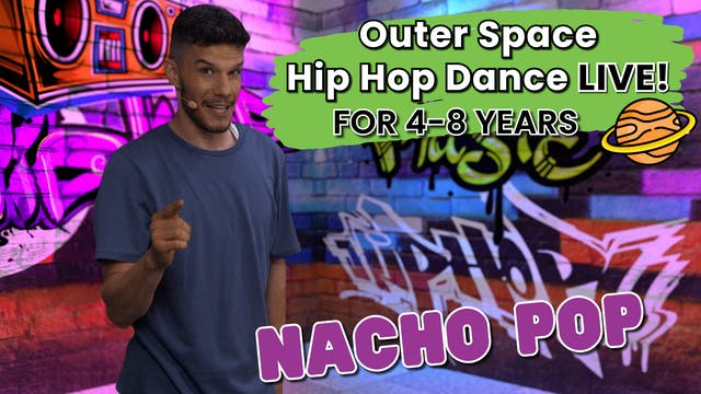 Outer Space Hip Hop Class