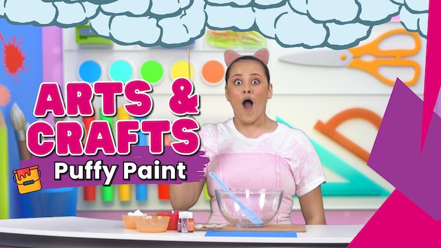 Get Creative and Make Your Own Magical Puffy Paint