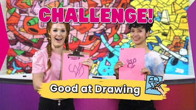 Challenge Time! Good at Drawing?