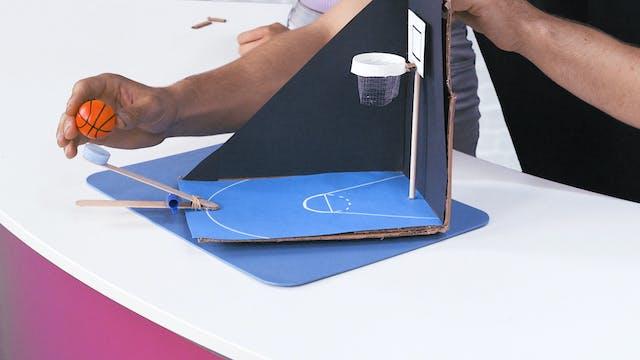 Make Your Own Mini Basketball Game