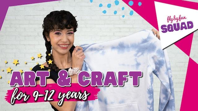 Art & Craft for 9-12yrs