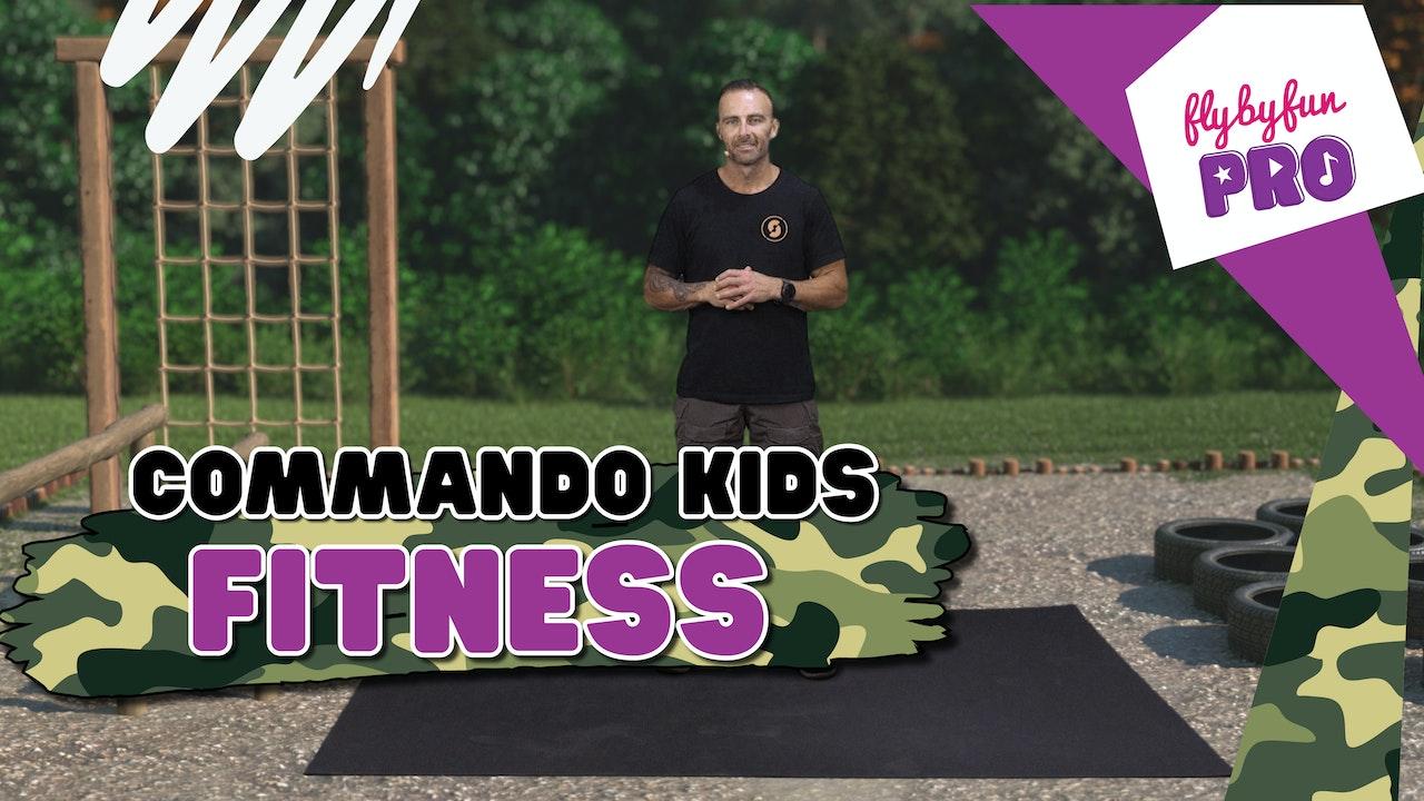 Commando Kids Exercises