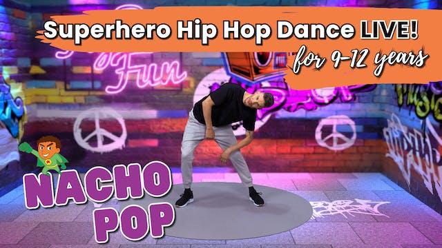 Superhero Hip Hop Dance Class