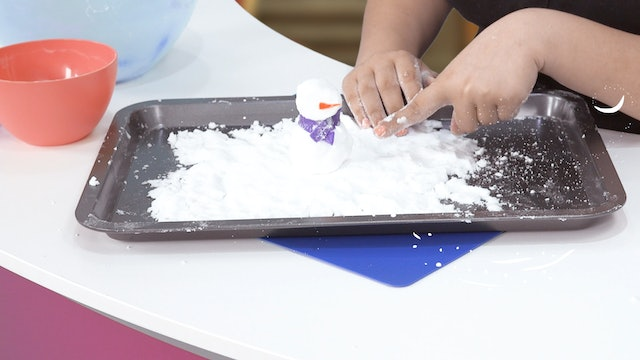DIY Fake Snow