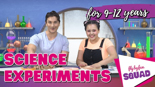 Science Experiments with 9-12yrs