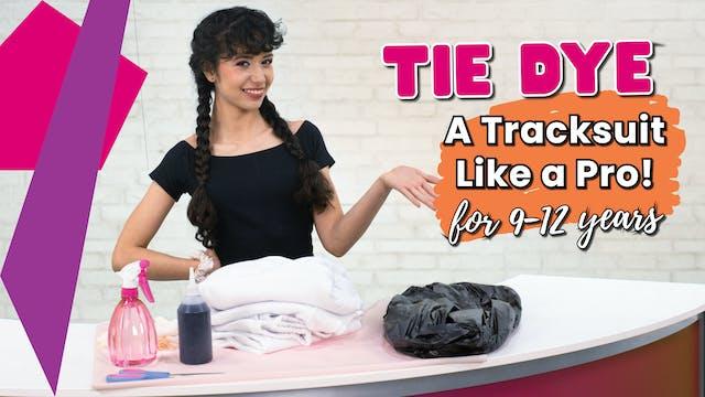 Tie Dye A Tracksuit Like A Pro!