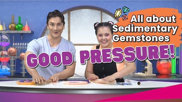 All About Pressure! Sedimentary Gemst...