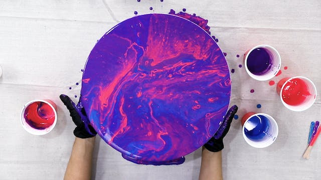 Learn the Art of Acrylic Paint Pouring