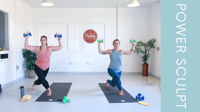 Power Sculpt with Caroline (20min)
