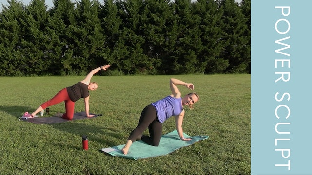 Power Sculpt with Rachael at Darden Towe Park (23min)