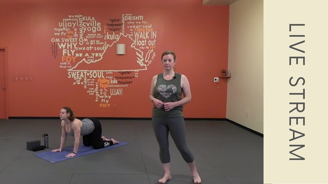 Vinyasa with Shannon M (64min)