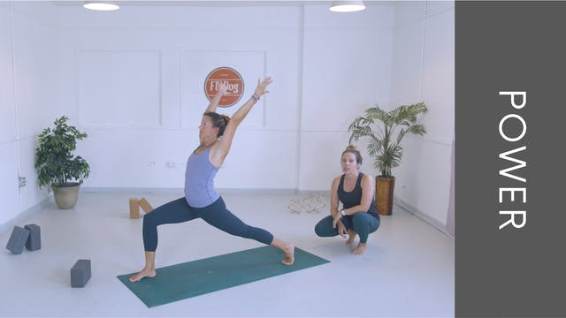 Power Vinyasa with Ashleigh (27min)