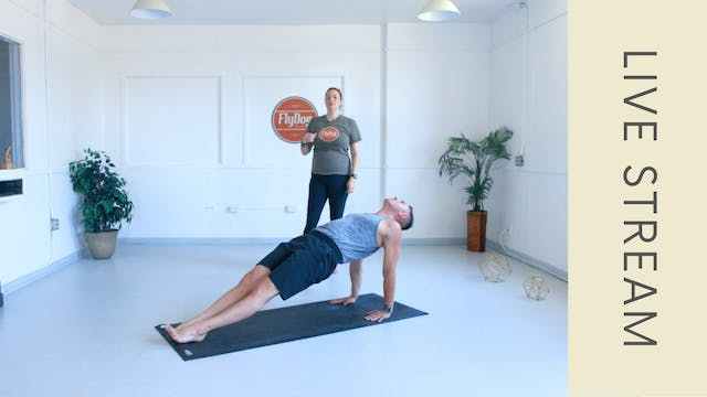 Power Vinyasa with Eliza (60min)