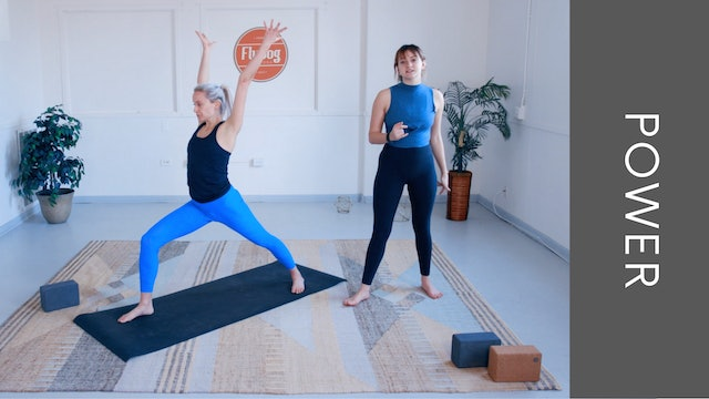 Power Vinyasa with Maddie Nell (35min)