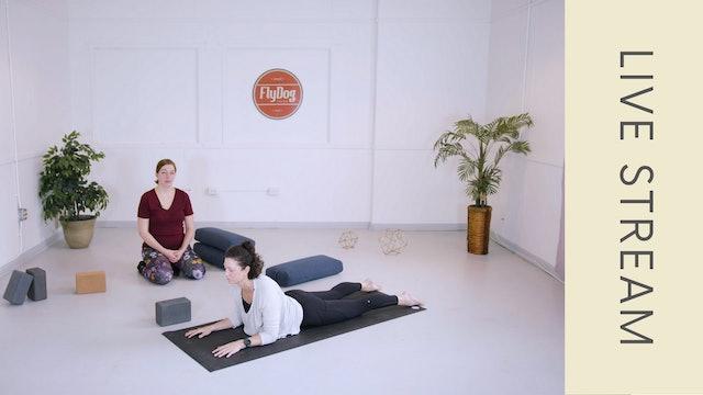 Yin with Lauren (60min)