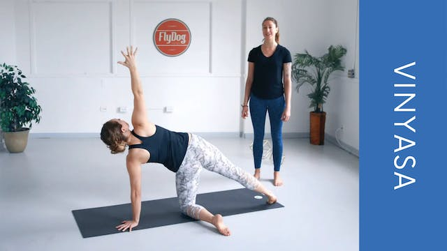 Vinyasa with Ashley (Hip Focused) (33...