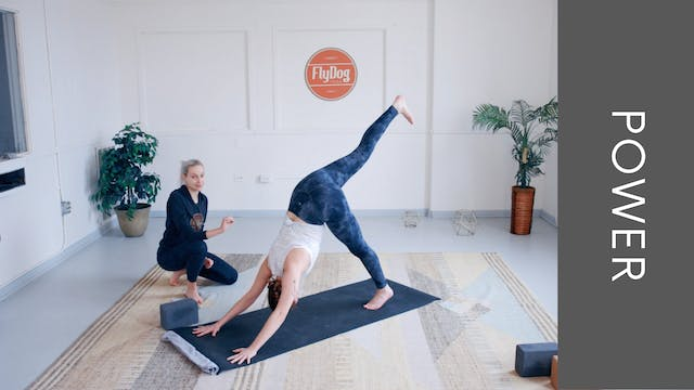 Power Vinyasa with Emily (35min)