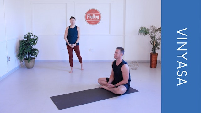 Vinyasa with Courtney C (31min)