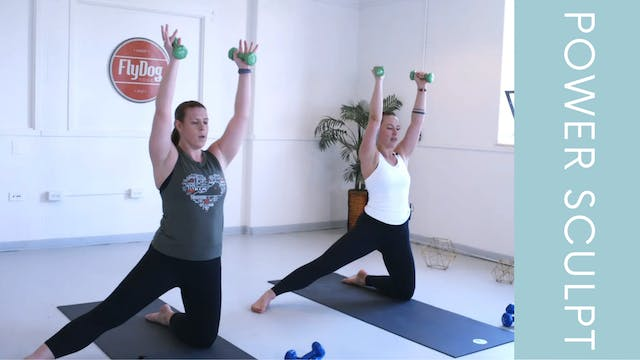 Power Sculpt with Caroline (23min)