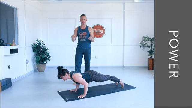 Power Vinyasa with Adam (32min)