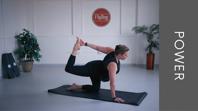 Power Vinyasa with Eliza