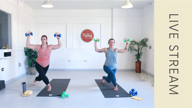 Power Sculpt with Caroline (61min)