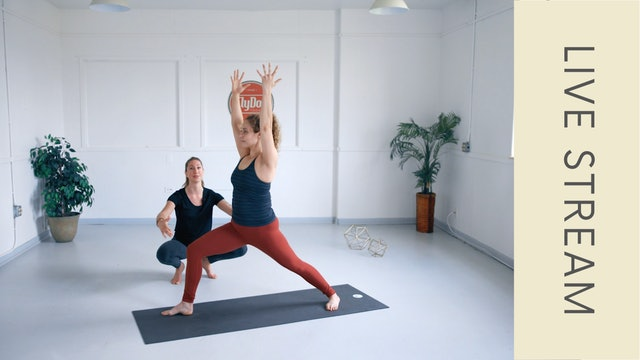 Vinyasa with Ashley (60min)