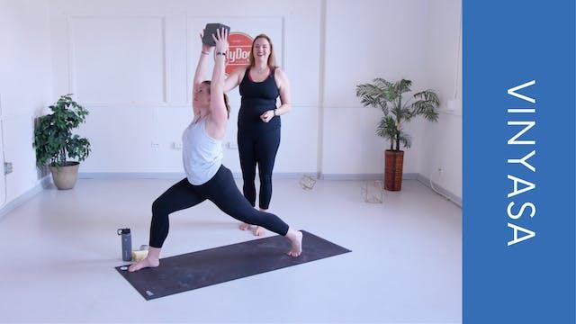 Vinyasa with Eliza - Core Flow (33min)