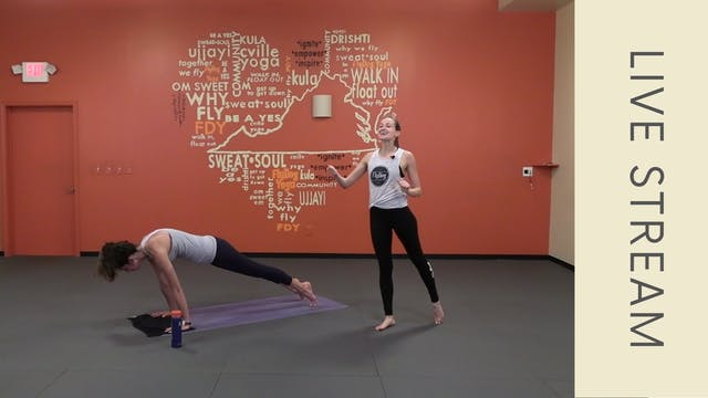 Power Vinyasa with Emily (63min)