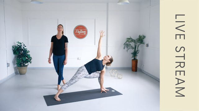 Power Vinyasa with Ashley (58min)
