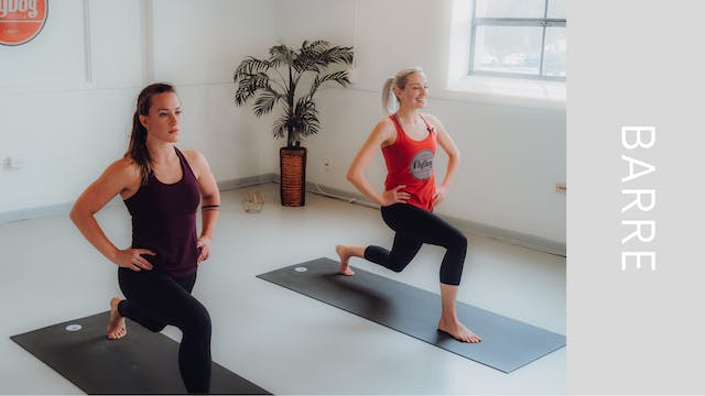 Barre Flow with Emily (32min)